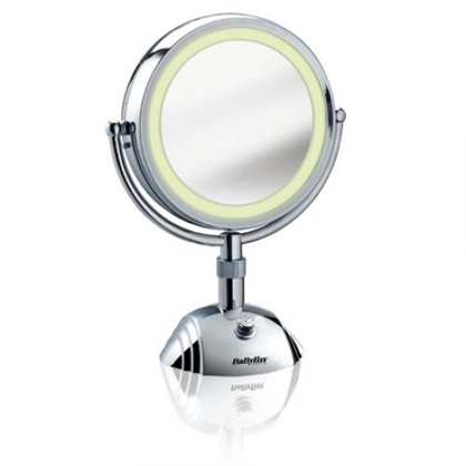 BaByliss 8438E 8x nagyítású 3 fénnyel világító sminktükör - MarketWorld  webáruház b341b73171