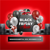 Black Friday 2018 - a MarketWorld webáruházban!