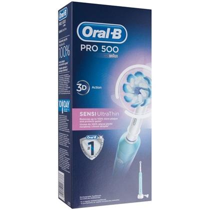 braun oral b pro 500 sensi ultrathin elektromos fogkefe marketworld web ruh z. Black Bedroom Furniture Sets. Home Design Ideas