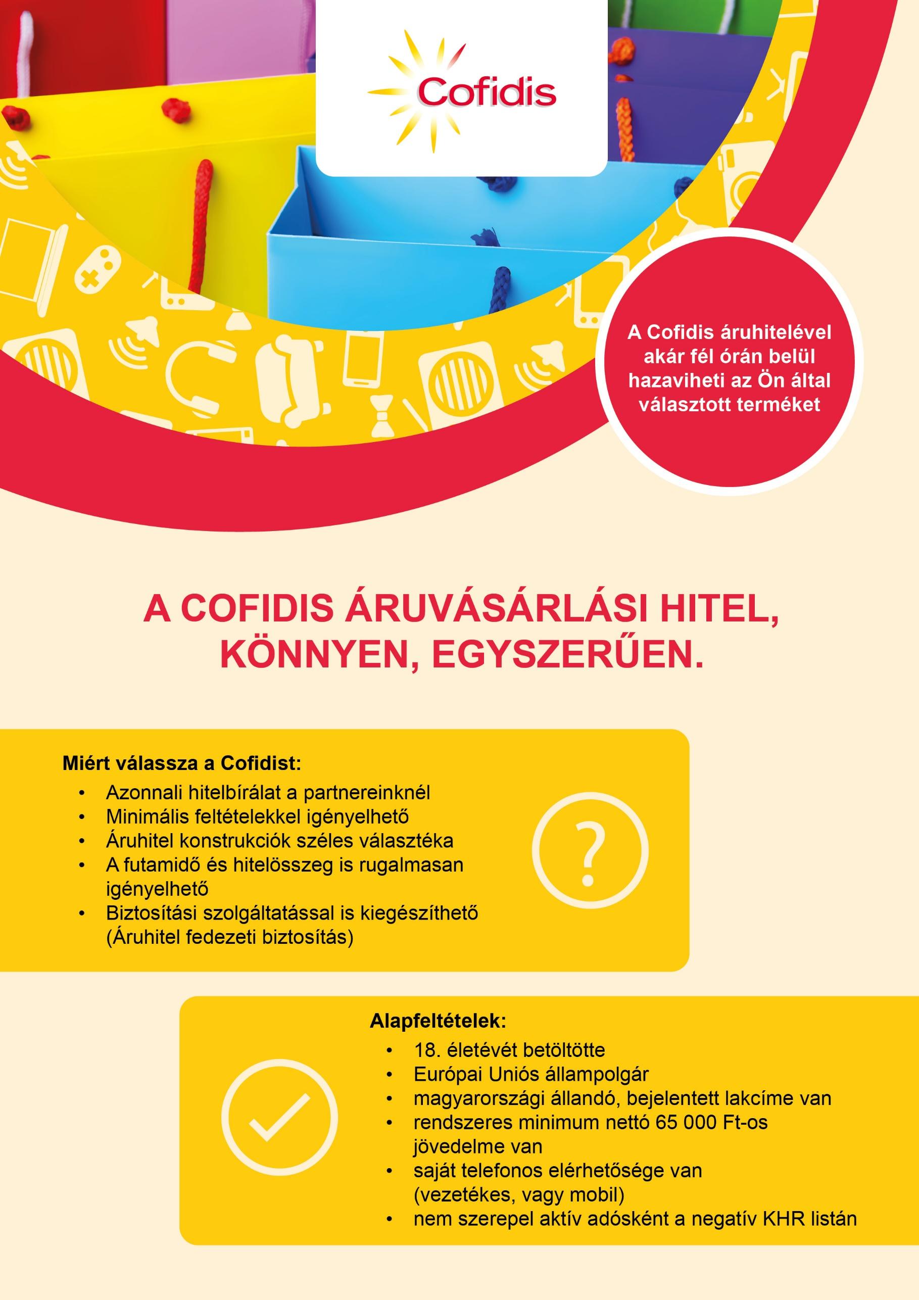 COFIDIS - MarketWorld webáruház b618579833